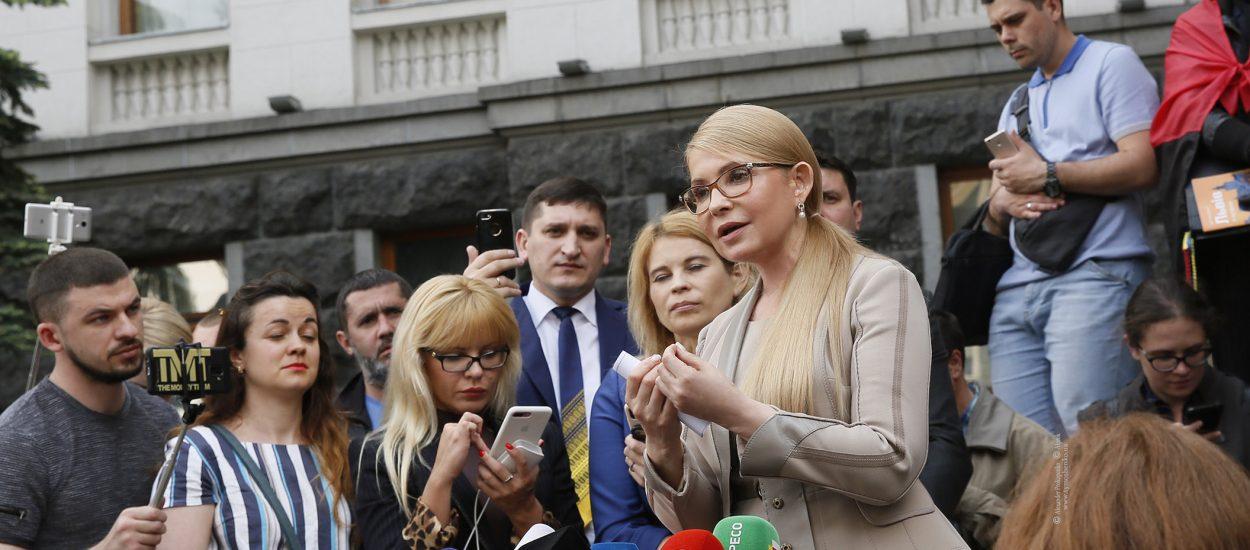 Юлія Тимошенко: Потрібно змінити виборче законодавство та ключових посадовців, не чекаючи розпуску Ради