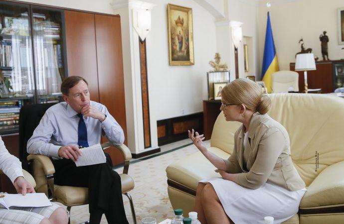 Юлія Тимошенко зустрілася з ексдиректором  ЦРУ, 12.06.2019