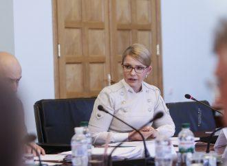 Юлія Тимошенко до Рахункової палати: Ми зупинимо крадіжку стратегічної власності держави