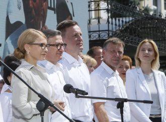 Юлія Тимошенко та перша четвірка «Батьківщини»– гості програми «Свобода слова» на ICTV