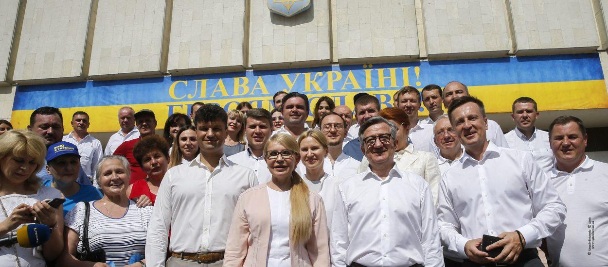 Юлія Тимошенко: Ми йдемо до парламенту сильною командою і з планом дій, що забезпечить результат за 100 днів