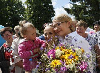 ЮліяТимошенко на Чернігівщині, 06.07.2019