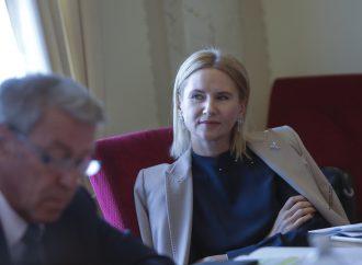 Олена Кондратюк: Для України особливо важлива підтримка європейських країн на міжнародному рівні