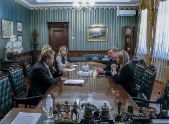 Юлія Тимошенко провела зустріч зЕлмаром Броком, 11.09.2019