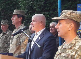 Юлія Тимошенко висловила подяку педколективу Закарпатського військового ліцею