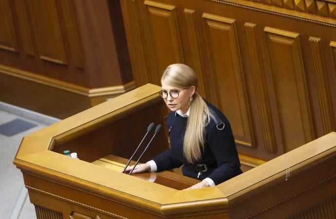 Юлія Тимошенко: Люди протестують, коли не можуть вплинути на рішення влади, 15.10.2019