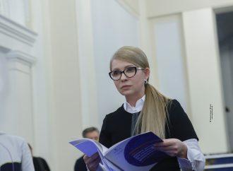 Брифінг Юлії Тимошенко у парламенті 11 листопада 2019 року