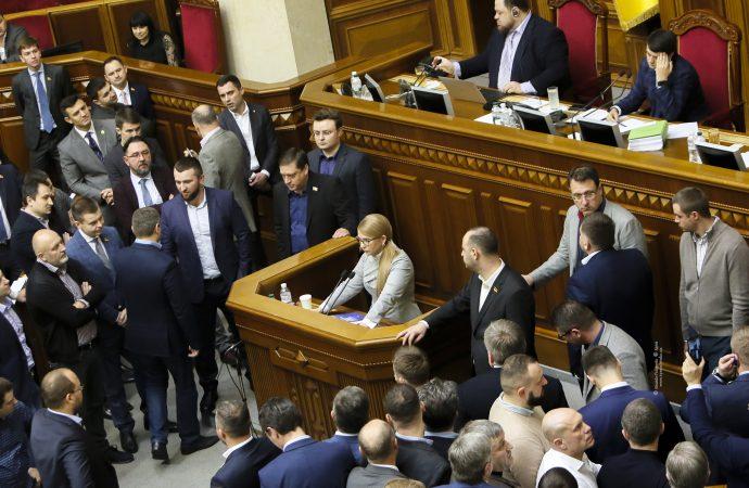 Виступ Юлії Тимошенко у Верховній Раді, 13.11.2019
