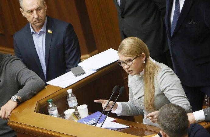Юлія Тимошенко перелічила головні небезпеки відкриття ринку землі, 13.11.2019