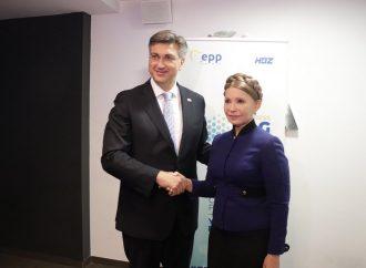 Юлія Тимошенко зустрілася з Прем'єр-міністром Хорватії