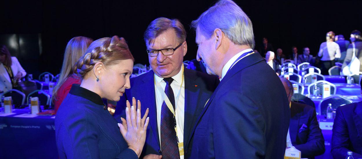 Юлія Тимошенко обговорила з Єврокомісаром Йоганнесом Ганом ситуацію в Україні