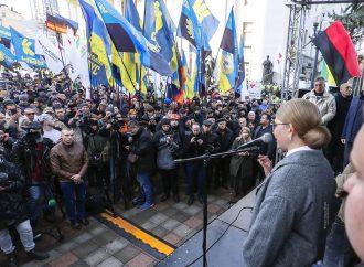 Зустріч Юлії Тимошенко з активістами, які вийшли на захист землі, 18.12.2019