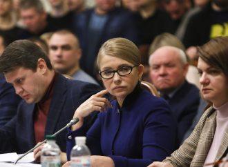«Батьківщина» вимагає зняти з розгляду земельні законопроєкти та закликає президента провести всеукраїнський референдум
