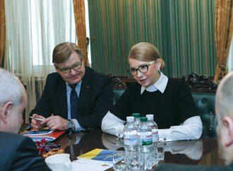 Зустріч Юлії Тимошенко з Головою Делегації ЄС в Україні, 16.12.2019