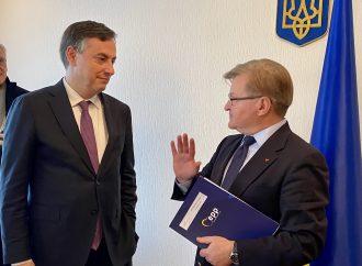Григорій Немиря зустрівся з делегацією Комітету Європейського парламенту у закордонних справах