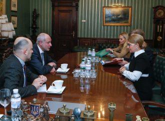 Юлія Тимошенко зустрілася з Головою Делегації ЄС в Україні