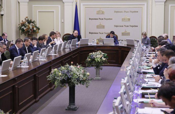 Погоджувальна рада депутатських фракцій та груп, 17.02.2020