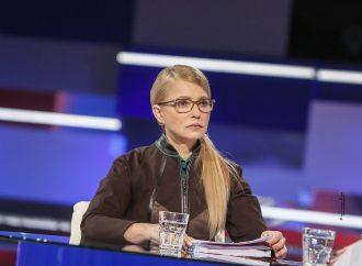 Юлія Тимошенко: Зміна персоналій в урядових кріслах не виправить ситуації – необхідно міняти курс