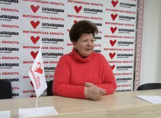 Анжеліка Лабунська: Якщо продамо землі – продамо життя майбутніх поколінь