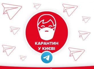 Центр захисту киян запустив Telegram-канал «Карантин у Києві»