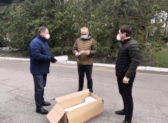 Депутати від «Батьківщини» подбали про захист медпрацівників Рівненщини