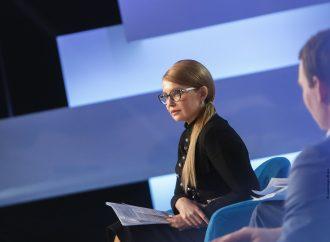 Юлія Тимошенко – гість ток-шоу «Свобода слова Савіка Шустера»