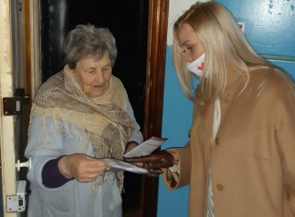 «Батьківщинівці» Дніпра активно допомагають жителям області під час карантину