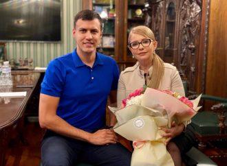 Віталій Нестор привітав однопартійців із 21-ю річницею ВО «Батьківщина»