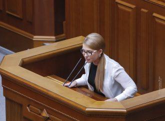 Виступ Юлії Тимошенко у Верховній Раді, 21.07.2020