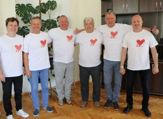 Полтавська «Батьківщина» провела флешмоб до дня народження партії