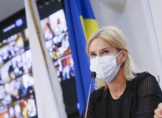 Олена Кондратюк: Потрібно, щоб парламент розглянув питання відповідальності урядовців за провал вакцинації українців від коронавірусу