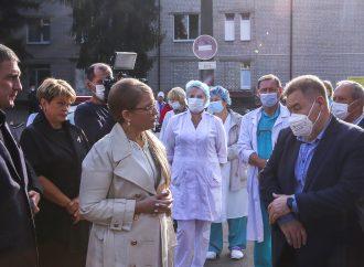 Юлія Тимошенко: Діяти треба системно –захистити людей від епідемії, запроваджувати страхову медицину і відновлювати науку