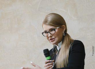 Юлія Тимошенко: Замість незаконної агітації в день виборів, влада вже давно мала б провести референдум по землі