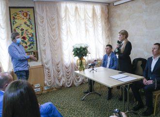 Юлія Тимошенко у Полтаві провела зустріч із підприємцями, які постраждали через карантинні обмеження, 14.10.2020