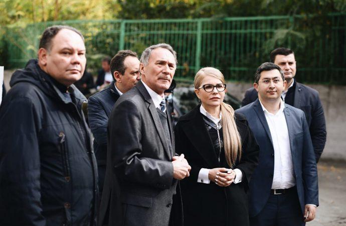 Юлія Тимошенко у Дніпрі зустрілася з колективом та керівництвом КБ «Південне», 21.10.2020