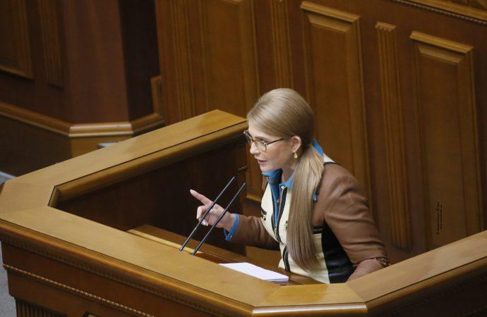 Виступ Юлії Тимошенко у Верховній Раді, 05.11.2020