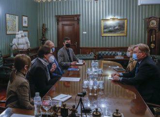 Григорій Немиря зустрівся з Головою делегації Міжнародного комітету Червоного Хреста