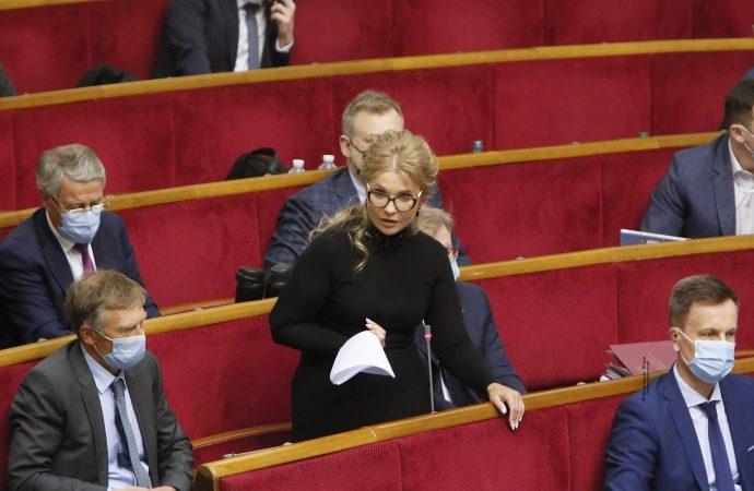Виступ Юлії Тимошенко у Верховній Раді, 26.01.2021