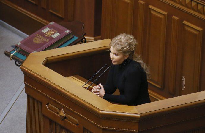 Виступ Юлії Тимошенко у Верховній Раді, 02.02.2021