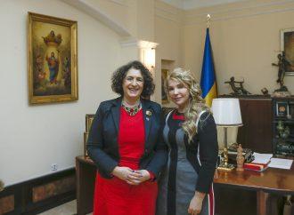 Юлія Тимошенко зустрілася з Послом Великої Британії