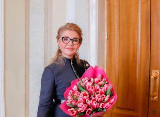 Весна неодмінно переможе, – Юлія Тимошенко привітала жінок зі святом