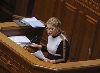 Виступ Юлії Тимошенко у Верховній Раді, 18.03.21