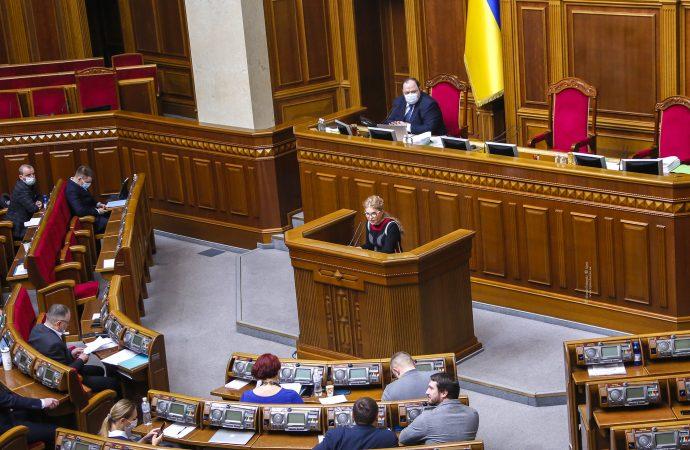 Виступ Юлії Тимошенко у Верховній Раді, 03.03.21