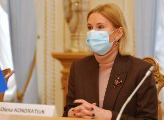 Олена Кондратюк: Настав час переходити від дискусій щодо членства України в НАТО до реальних справ