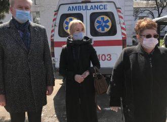 «Батьківщина» у Новомосковську підтримує медиків у боротьбі з COVID-19