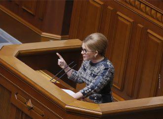 Виступ Юлії Тимошенко у Верховній Раді, 27.04.21