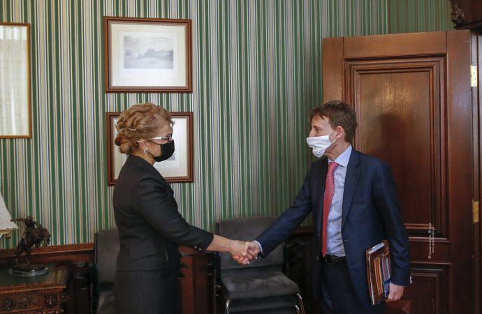 Зустріч Юлії Тимошенко з Послом Італії в Україні, 01.04.21