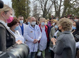 Завдяки зусиллям «Батьківщини» Васильківська міська лікарня наблизилась до статусу опорної