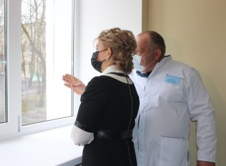 Візит Юлії Тимошенко до медичних закладів Дніпропетровської області, 04.04.21