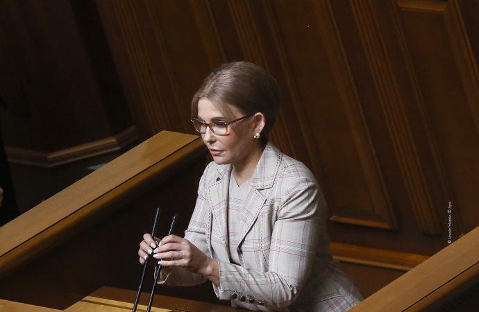 Виступ Юлії Тимошенко у Верховній Раді, 15.06.21